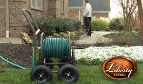 garden hose reel cart. Garden Hose Reel Cart