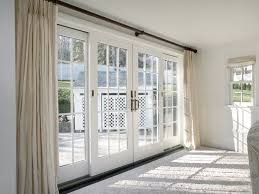 doors marvelous sliding glass french doors 4 panel sliding glass door white wooden door curtain
