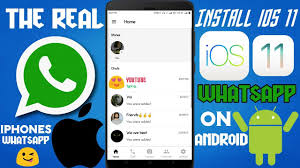 Install 's Real Iphone The On 11 Android Whatsapp Ios Sq8wRrS