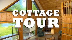 Small Picture Canadian Log Cabin Cottage Tour YouTube