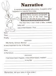 narrative essay format description of narrative essay