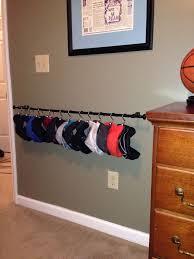 clothing hooks astounding multiple hat rack baseball cap display image is loading ikea tjusig wall