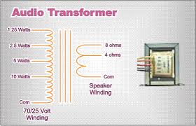 70 25 volt audio 70 volt transformer