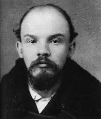 vladimir lenin a police mugshot of lenin taken when he was arrested in 1895