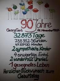 90 Anniversery Geschenke 90 Geburtstag 90 Geburtstag Sprüche