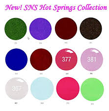 Sns Color Chart Amazon Com Sns Nail Dipping Powder Gelous Color 12 New