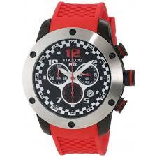 mulco prix black dial chronograph red silicone men s watch mw2 mulco prix black dial chronograph red silicone men s watch mw2 6313 065