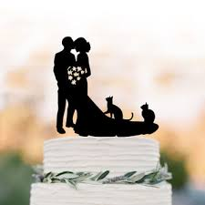 Best Cat Wedding Cake Topper Products on Wanelo