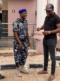 the police guards attached to the deputy speaker outside his meekness and fatherly disposition to all that e his way the urhobo born police officer