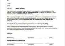 employee warning forms free printable legal guardianship forms cycling studio