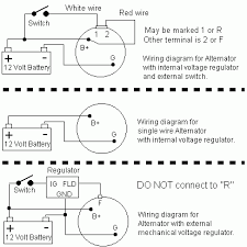 wiring diagram for single wire alternator wiring 12v alternator wiring diagram wiring diagram on wiring diagram for single wire alternator