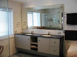 Mirror Wall Mounting Brackets Frameless Hardware Beveled Bathroom ...