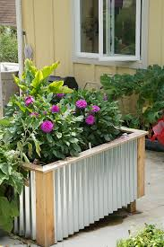 corrugated metal raised garden beds. Raised Bed Garden With Corrugated Sides Metal Beds N