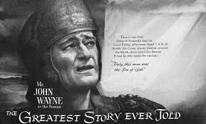 Image result for images of movie the greatest story ever told