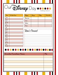 Get Ready For Your Disney Vacation Free Printable Disney Vacation