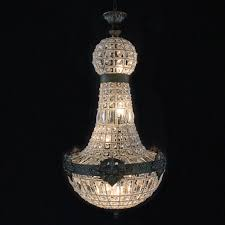 graceful crystal chandelier whole 1 retro vintage big round french empire style led e14 modern 6 lights re lamp