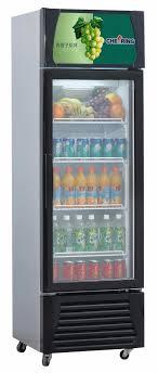 Store & Supermarket equipment glass door pepsi refrigerator fridge
