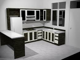White Or Wood Kitchen Cabinets Terrific Black And White Kitchen Cabinets Decoration At Exterior