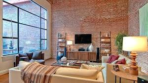 awesome faux painted brick wall interior beautiful walls are not only for the exterior they can
