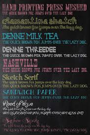 chalk font list two