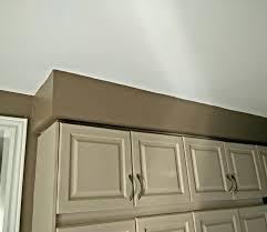 What Is The Name For This Block Between The Ceiling And The Cabinets