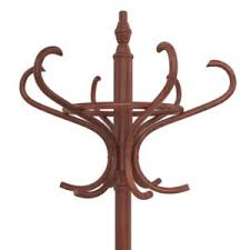Wooden Coat Rack With Umbrella Holder lucrea100D Wooden coat rack with umbrella stand 64