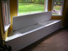 Kitchen Bay Window Seating Appealing Bay Window Bench Photo Decoration Ideas Andrea Outloud