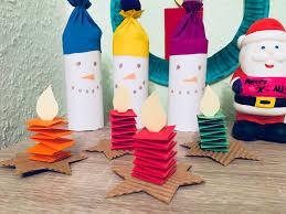 Kleine Kerzen Falten Basteln Mit Kindern Der