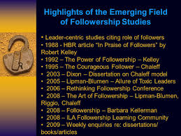 the courageous follower a new view of leader follower  2 highlights