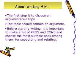 discursive and argumentative essays 3