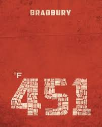 items similar to clic book cover poster on etsy find this pin and more on bradbury by jonathan boehman great typography in this fahrenheit 451