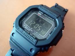 men s casio g shock alarm chronograph radio controlled watch gw click collect