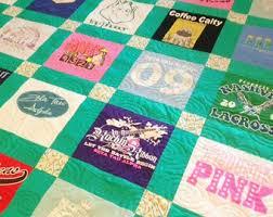 Tshirt quilt | Etsy & T-Shirt Quilt - Custom Made - Order By-the-Block TShirt Quilt Adamdwight.com