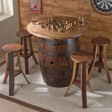 jack daniels whiskey barrel table gallery furniture designs