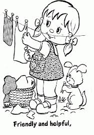 Small Picture 60 best Girl Scout coloring sheets images on Pinterest Girl
