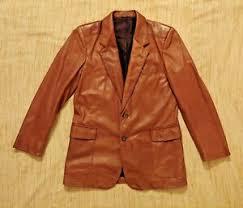 Bally Jacket Size Chart Details About Bally Of Switzerland Men Sz 38 Italy Brown Soft Leather Sport Blazer Vtg Jacket