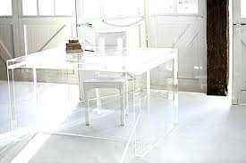 plexiglass desk protector dining table vinyl covers