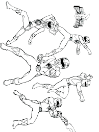 Coloring Pages Power Rangers Free Power Ranger Coloring Pages Free