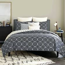 large size of navy print duvet cover bring an eye catching look to your bedroom with