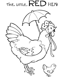 Small Picture The little red hen coloring pages Coloring Pages Pictures