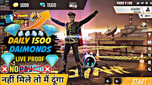 How diamonds are use in free fire 2021. How To Get Free Diamonds In Free Fire Get Free Unlimited Diamonds 100 Working Trick Youtube