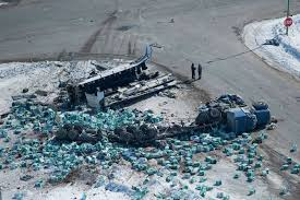 15 killed after truck collides with junior hockey team's bus in ...