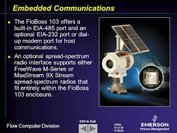 flobosstm flow manager ppt 11 embedded communications
