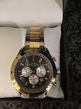 gents men s two tone stainless steel automatic rotary watch on rotary men s two tone chronography bracelet watch gb03429 20