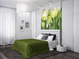 Modern Decor Bedroom Apartment Bedroom Yellow Green Wall Paint Combination In Modern