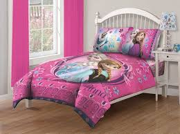 details about disney 4 piece frozen full size comforter bedding set with fitted bed sheet pink