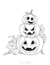 Free printable pumpkin coloring pages. 85 Pumpkin Coloring Pages For Kids Adults Free Printables