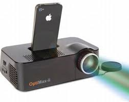 iphone projector. iphone video projector a really cool idea for those who live with their iphone, iphones r