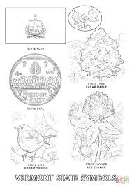 Small Picture Vermont State Symbols coloring page Free Printable Coloring Pages