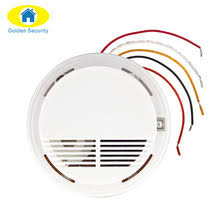 fire alarm wiring promotion shop for promotional fire alarm wiring Wiring Fire Alarm golden security wired fire smoke sensor detector alarm tester for home security system new product fire alarm smoke detector wiring fire alarm systems